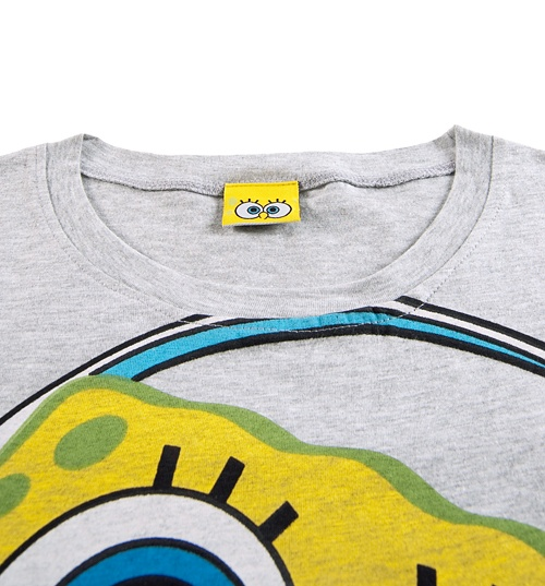 Women's SpongeBob Squarepants Headphones T-Shirt