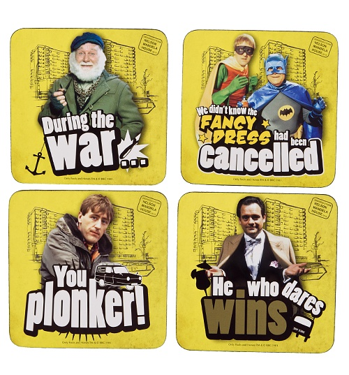 Only Fools And Horses Set Of Four Coasters