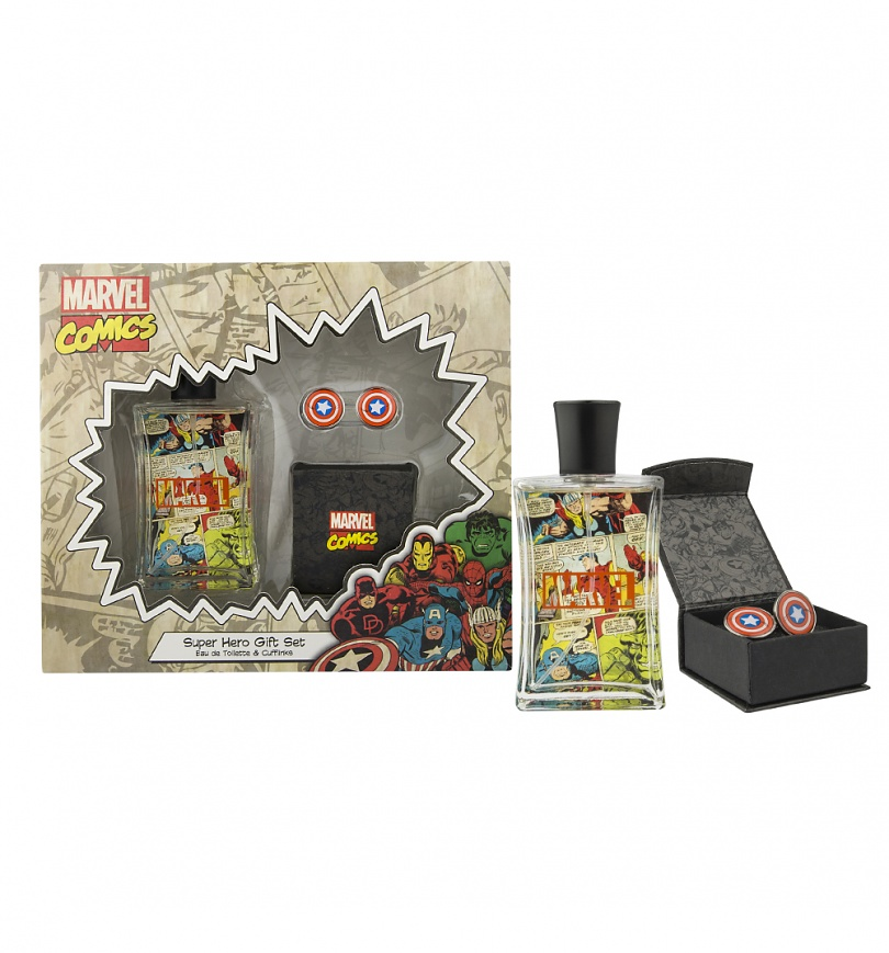 Marvel Baby Gifts Uk : Marvel comics fragrance and cufflinks gift set