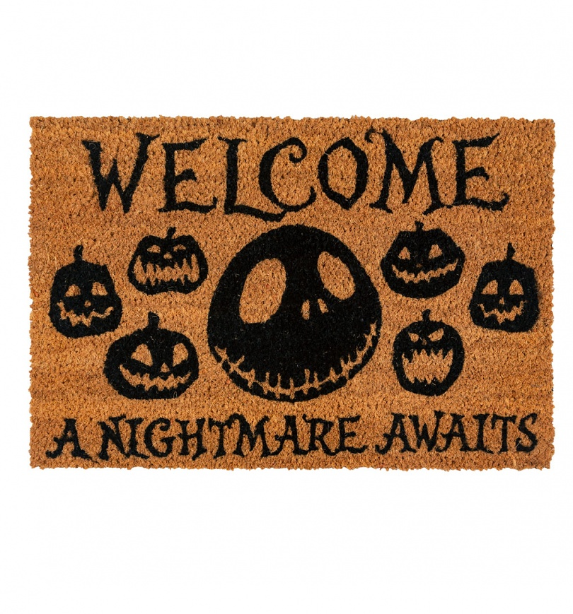 Nightmare Before Christmas Gifts Uk: The Nightmare Before Christmas A Nightmare Awaits Door Mat