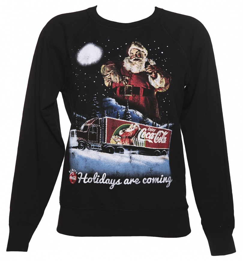 Women S Coca Cola Holidays Are Coming Lightweight
