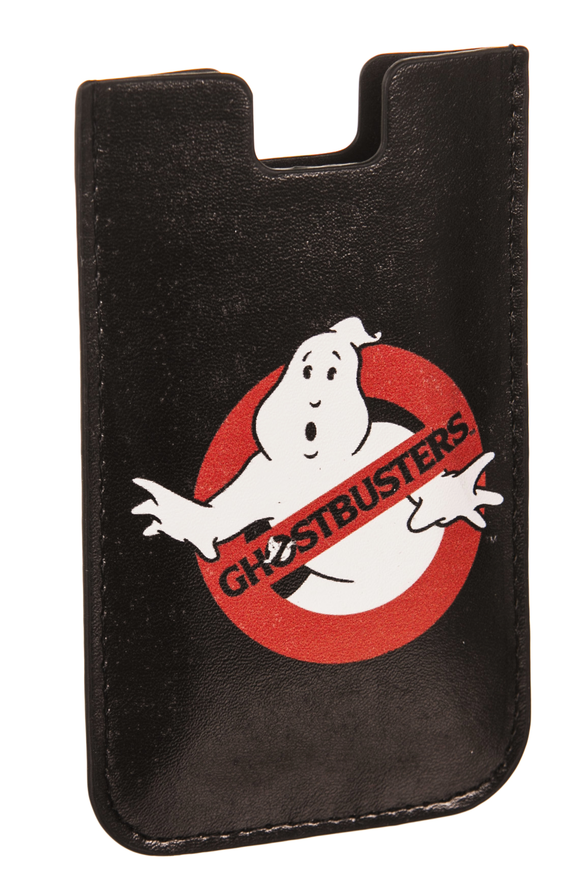 Black Ghostbusters Logo iPhone Cover