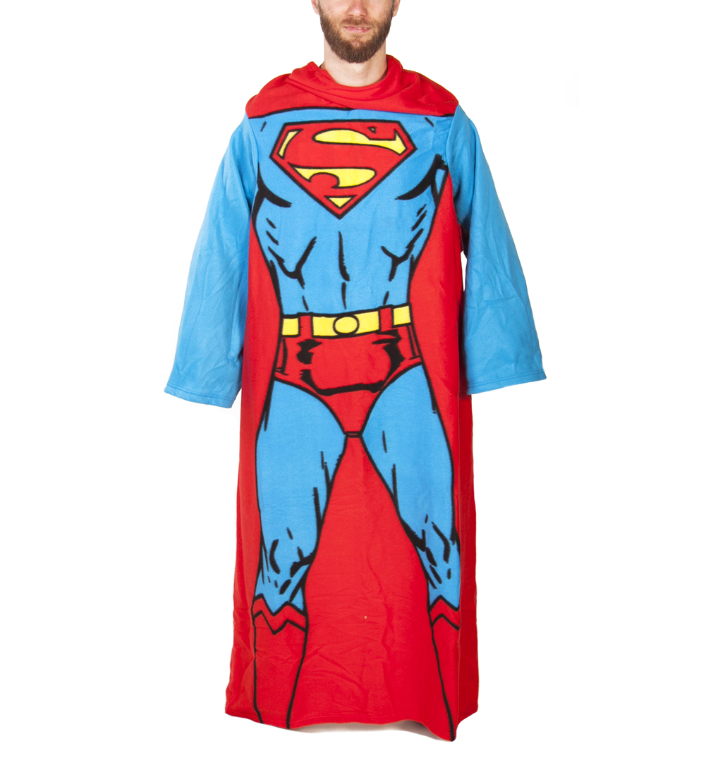 DC Comics Superman Muscle Print Snuggler