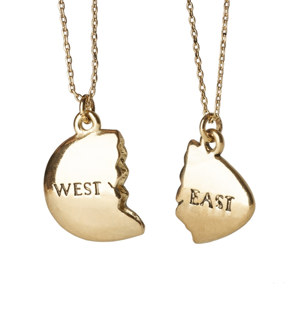 quot east and west egg quot the great gatsby gold plated best