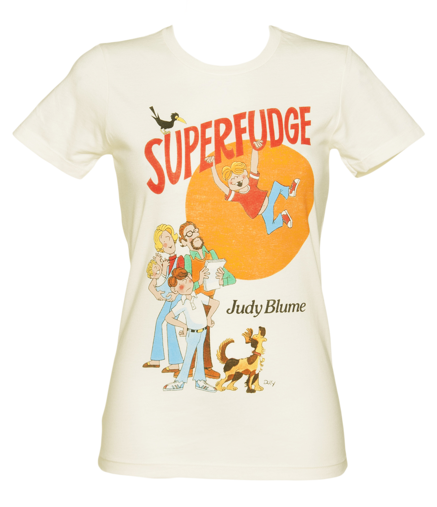 Ladies Superfudge By Judy Blume Book Cover T-Shirt from Out Of Print