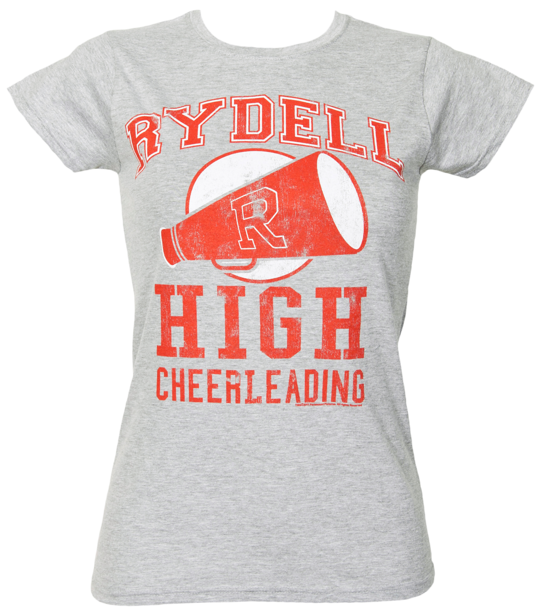 Ladies Grease Rydell High Cheerleading T-Shirt from TruffleShuffle