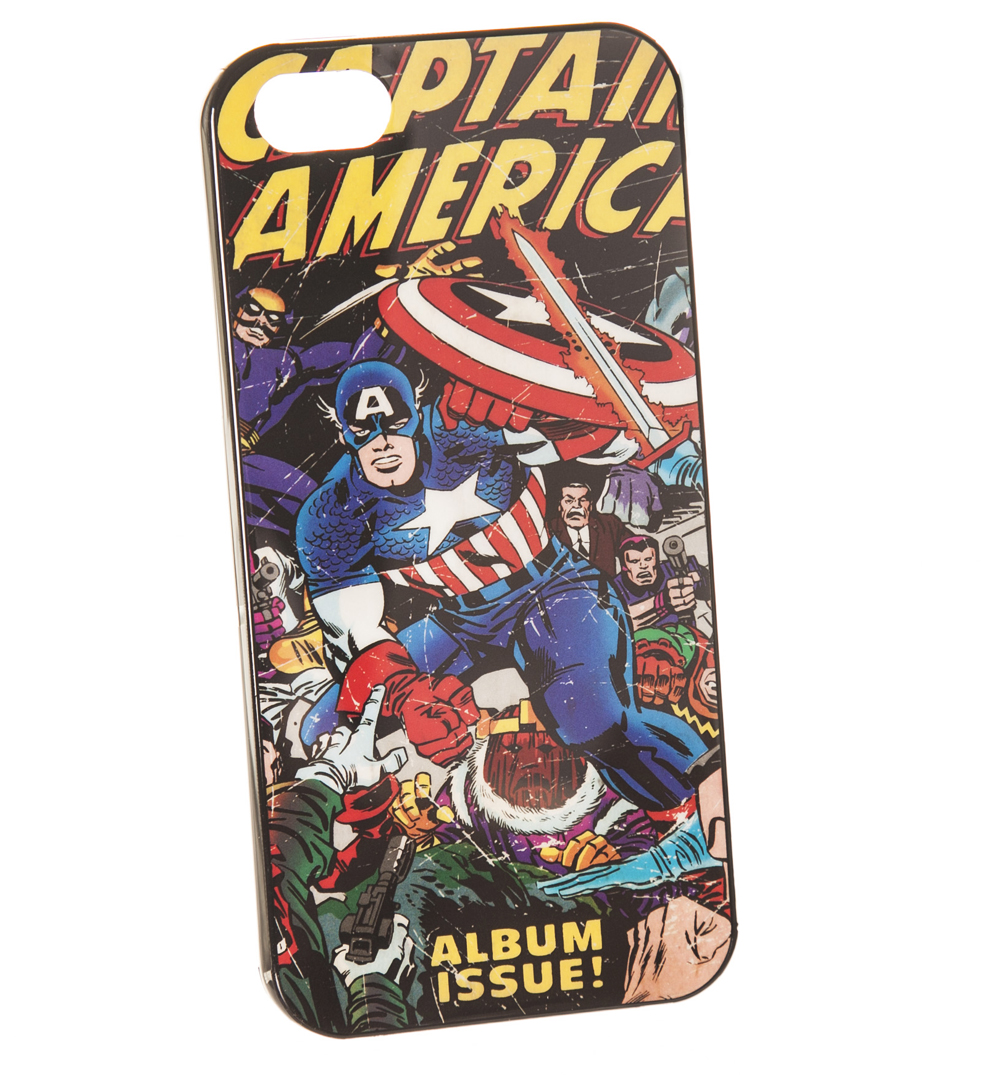 Marvel Comics Captain America IPhone 5 Case