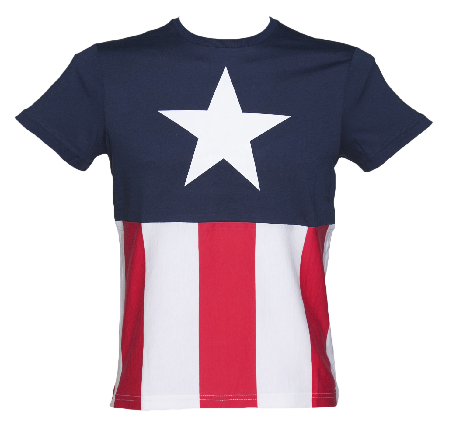 men 39 s captain america marvel costume t shirt. Black Bedroom Furniture Sets. Home Design Ideas
