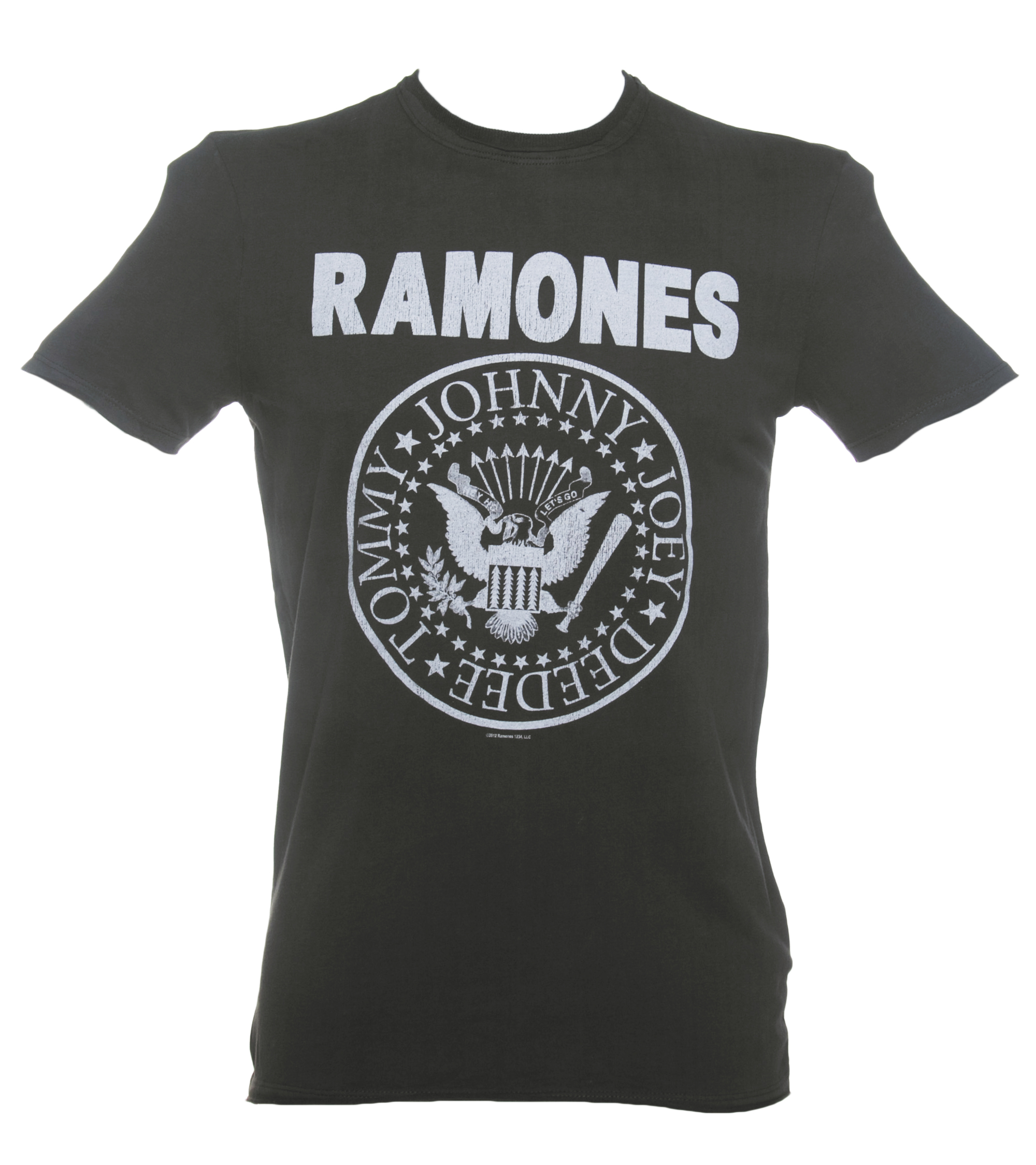 Ramones T-Shirts. The Ramones were a punk rock band that formed in in Queens, New York. The band members included Joey Ramone, Tommy Ramone, Dee Dee Ramone, and Johnny Ramone. All of the band members of the Ramones had the last name 'Ramone', but they were not related to one another. The name of the band was recommended by Dee Dee/5().