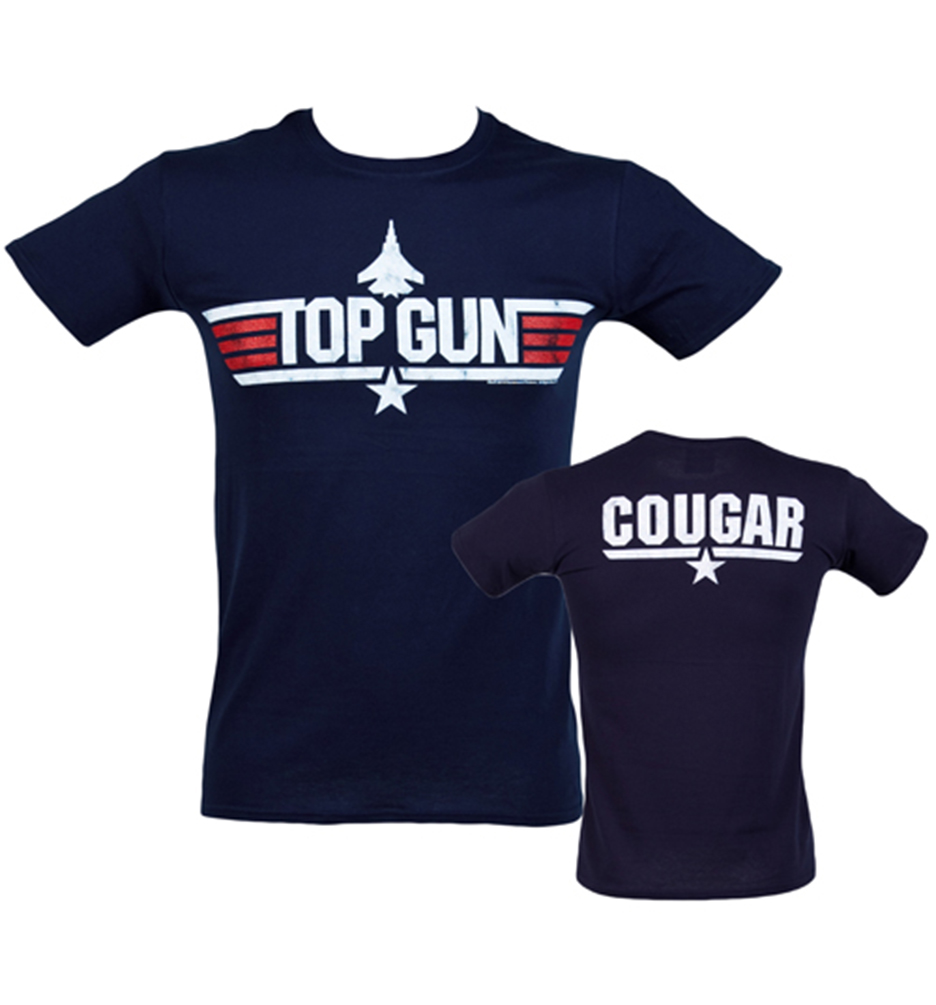 60361ad09b01 Men s Top Gun Cougar T-Shirt