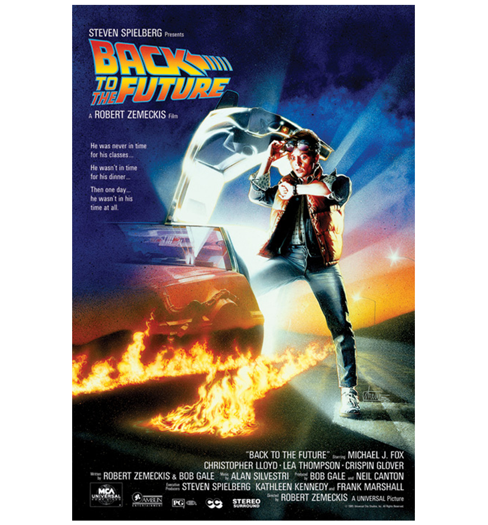 back to the future maxi poster. Black Bedroom Furniture Sets. Home Design Ideas