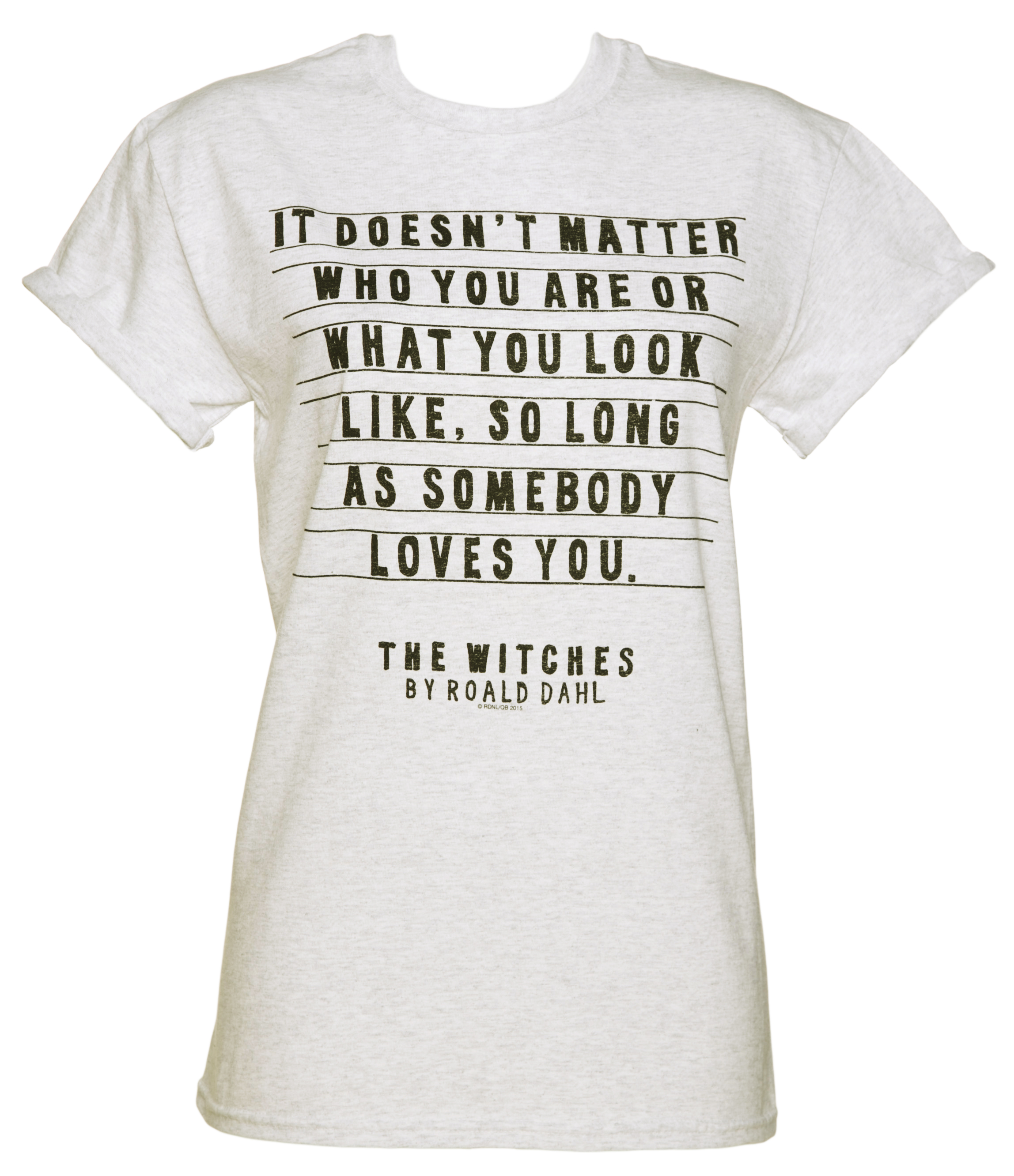 Women\u002639;s Roald Dahl The Witches Rolled Sleeve Boyfriend