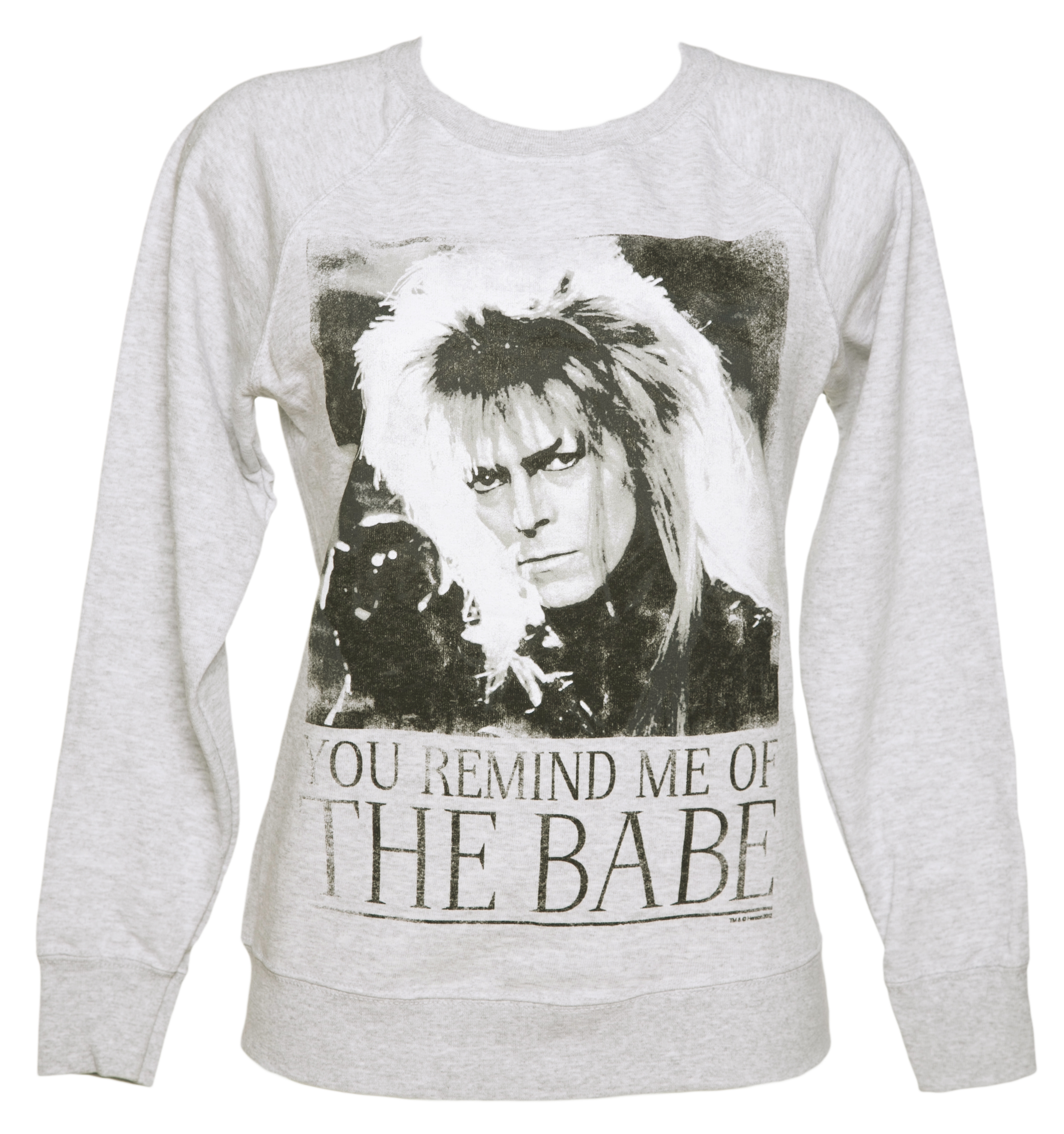 Womens You Remind Me Of The Babe Bowie Labyrinth Sweater