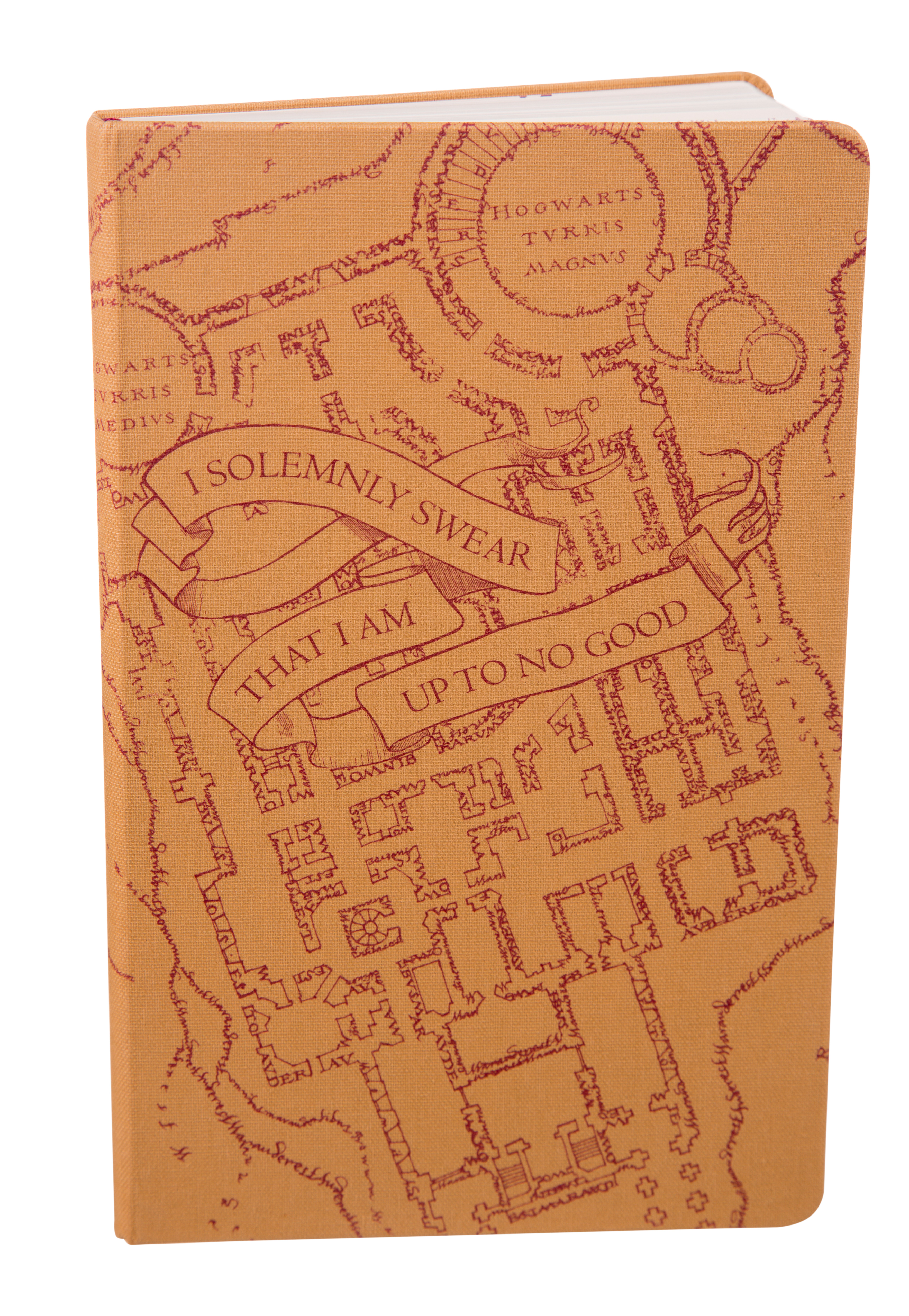 Limited edition harry potter marauder s map ruled notebook from moleskine 240 lines pages cloth bound acid free paper 13 x 21 cm