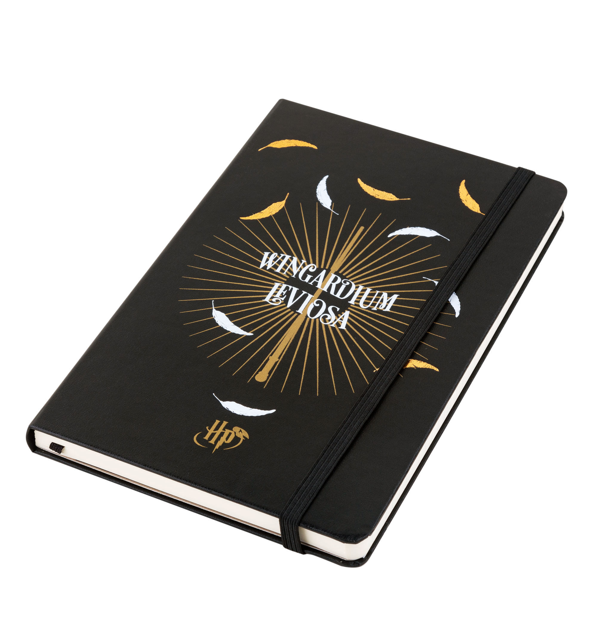 68943828 Limited Edition Harry Potter Wingardium Leviosa Ruled Notebook from  Moleskine - Hardcover with Harry Potter Wingardium Leviosa design - Elastic  closure