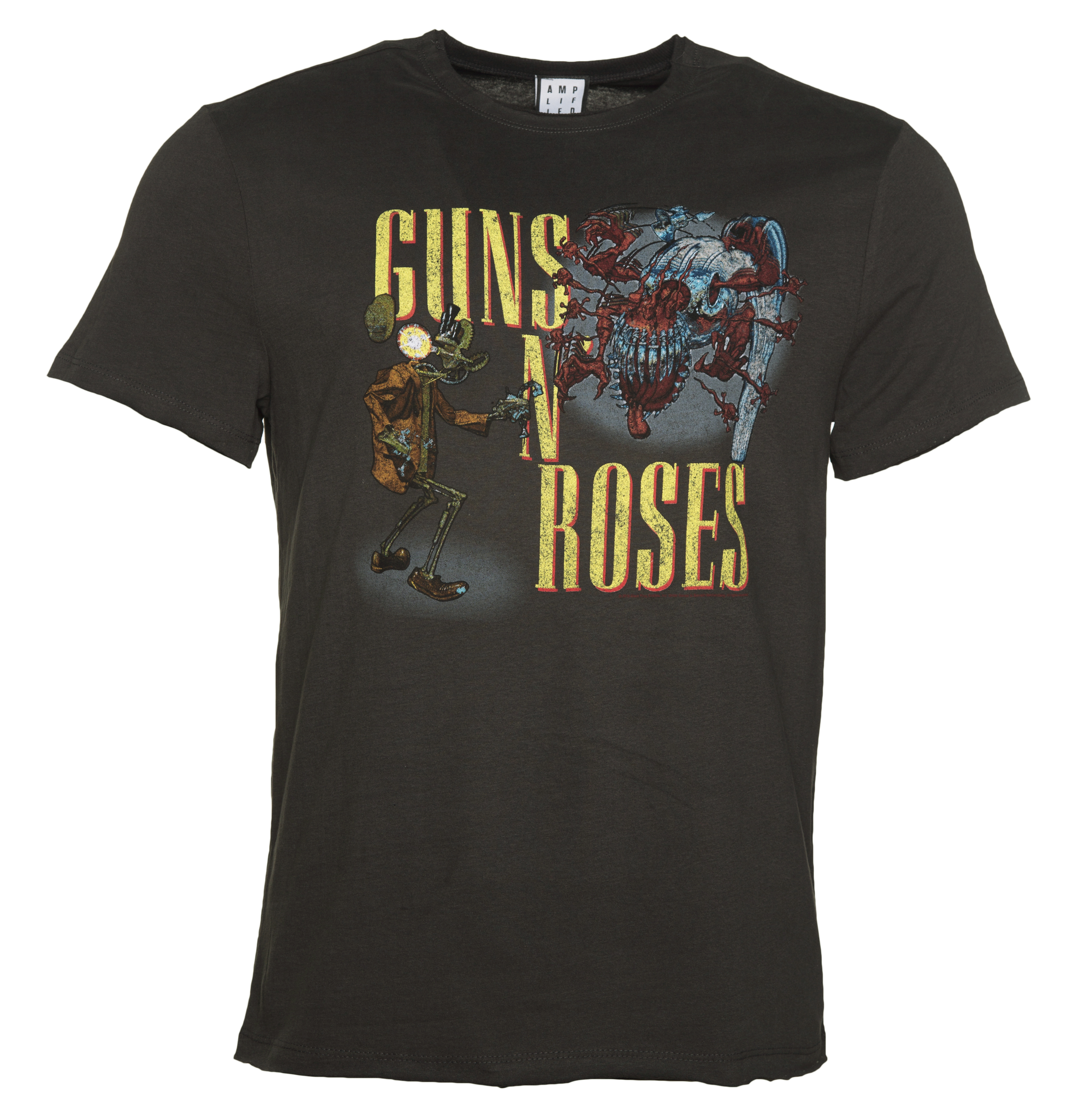 men 39 s charcoal guns n 39 roses appetite attack t shirt from. Black Bedroom Furniture Sets. Home Design Ideas