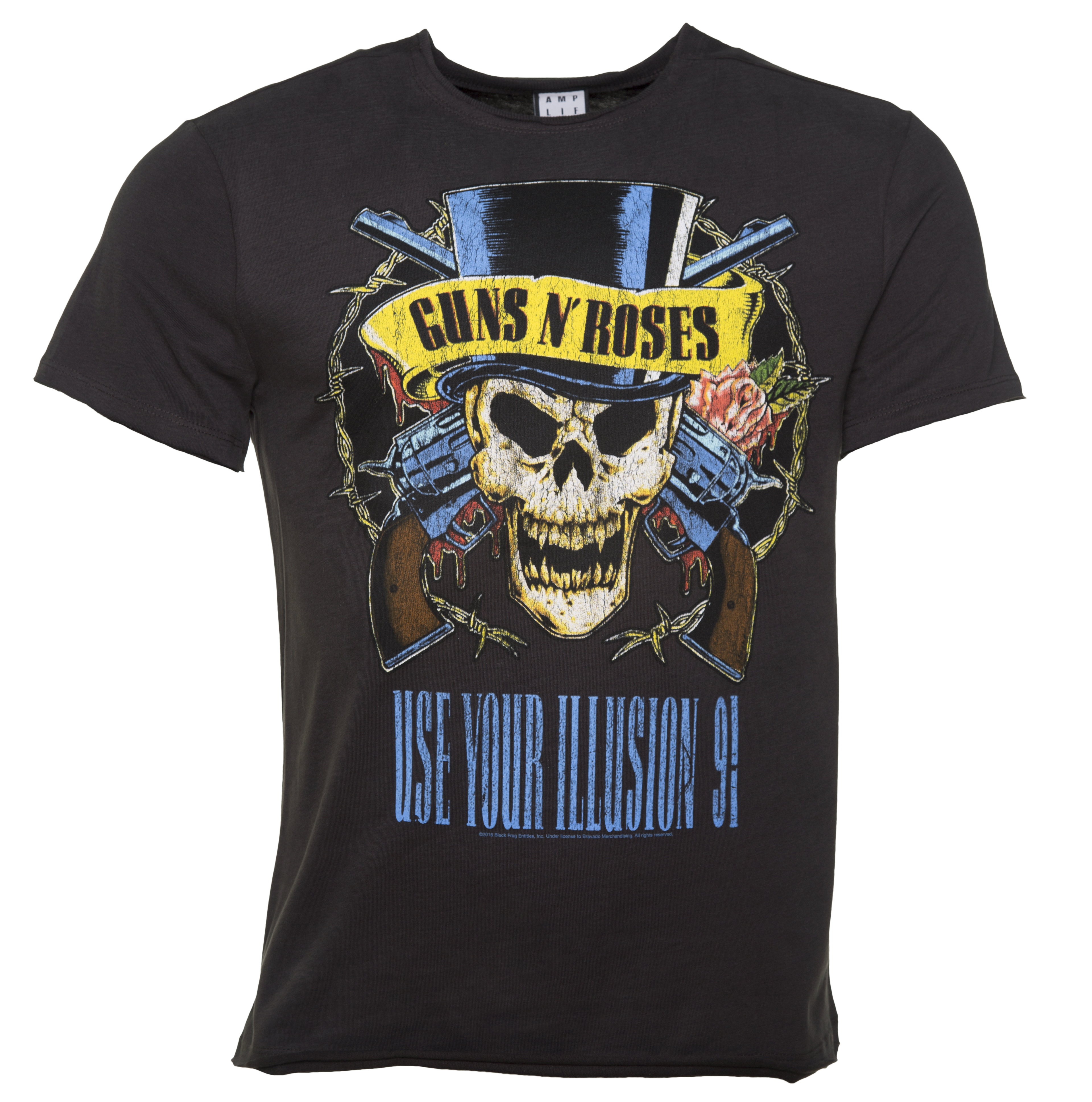 Guns N Roses Shirts : men 39 s charcoal guns n 39 roses use your illusion t shirt from amplified ~ Russianpoet.info Haus und Dekorationen