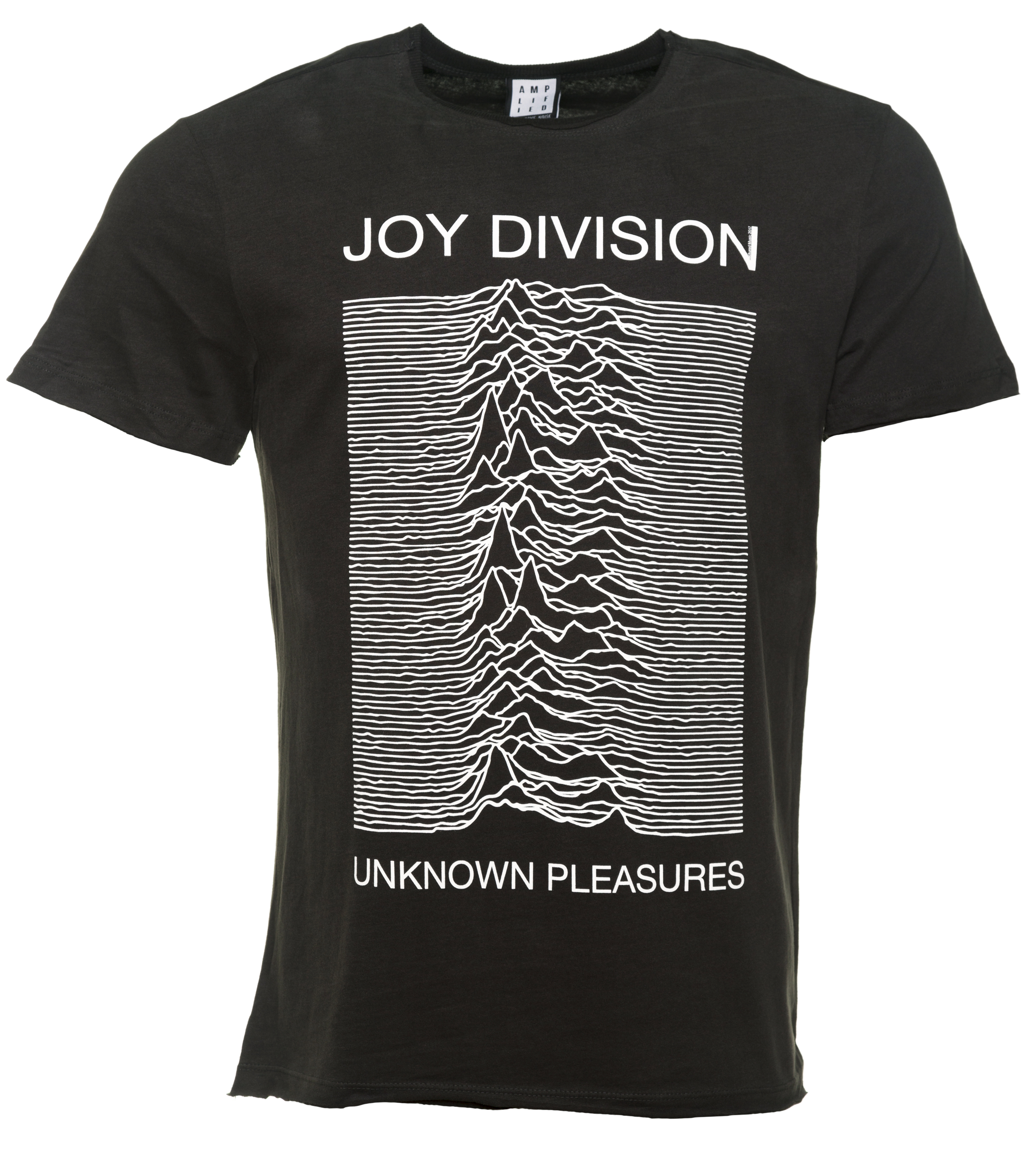 men 39 s charcoal joy division unknown pleasures t shirt from. Black Bedroom Furniture Sets. Home Design Ideas