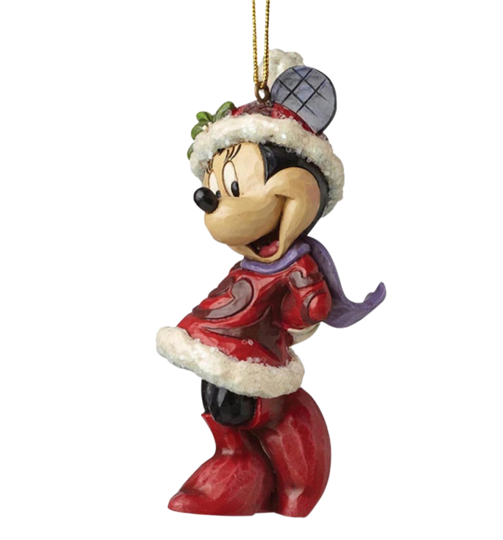 Minnie mouse disney christmas hanging ornament - Minnie mouse noel ...
