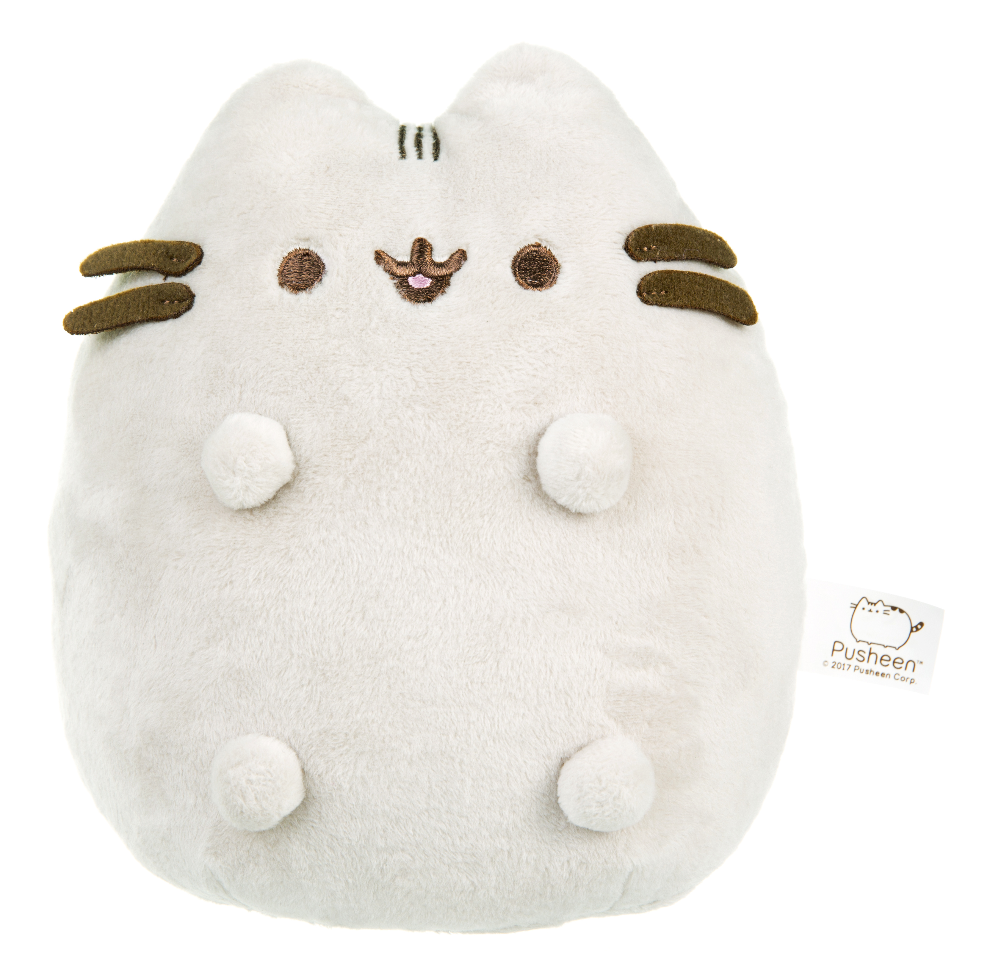 Pusheen 3D Plush Door Stop   Made From Super Soft Plush   Filled With 800g  Weighted Beads   Includes Embroidered Features And 3D Ears And Whiskers