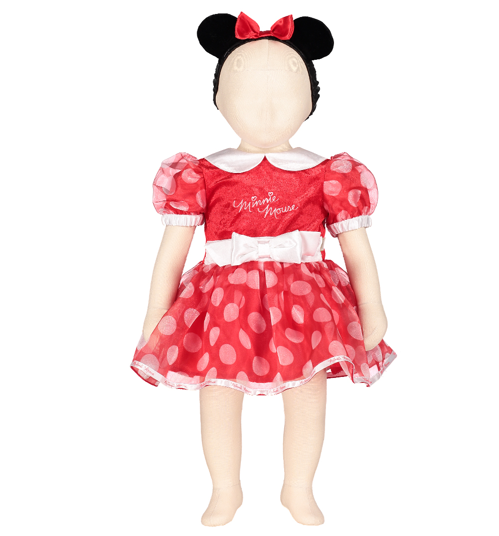 Disney ~ Minnie Mouse ~ Dress Girl's Size: 7/8 ***Comes to You New with Tag*** Your Minnie Mouse fan will absolutely adore this beautiful dress!! Covering the bodice of the dress is an adorable image of Minnie Mouse surrounded by flowers and hearts.