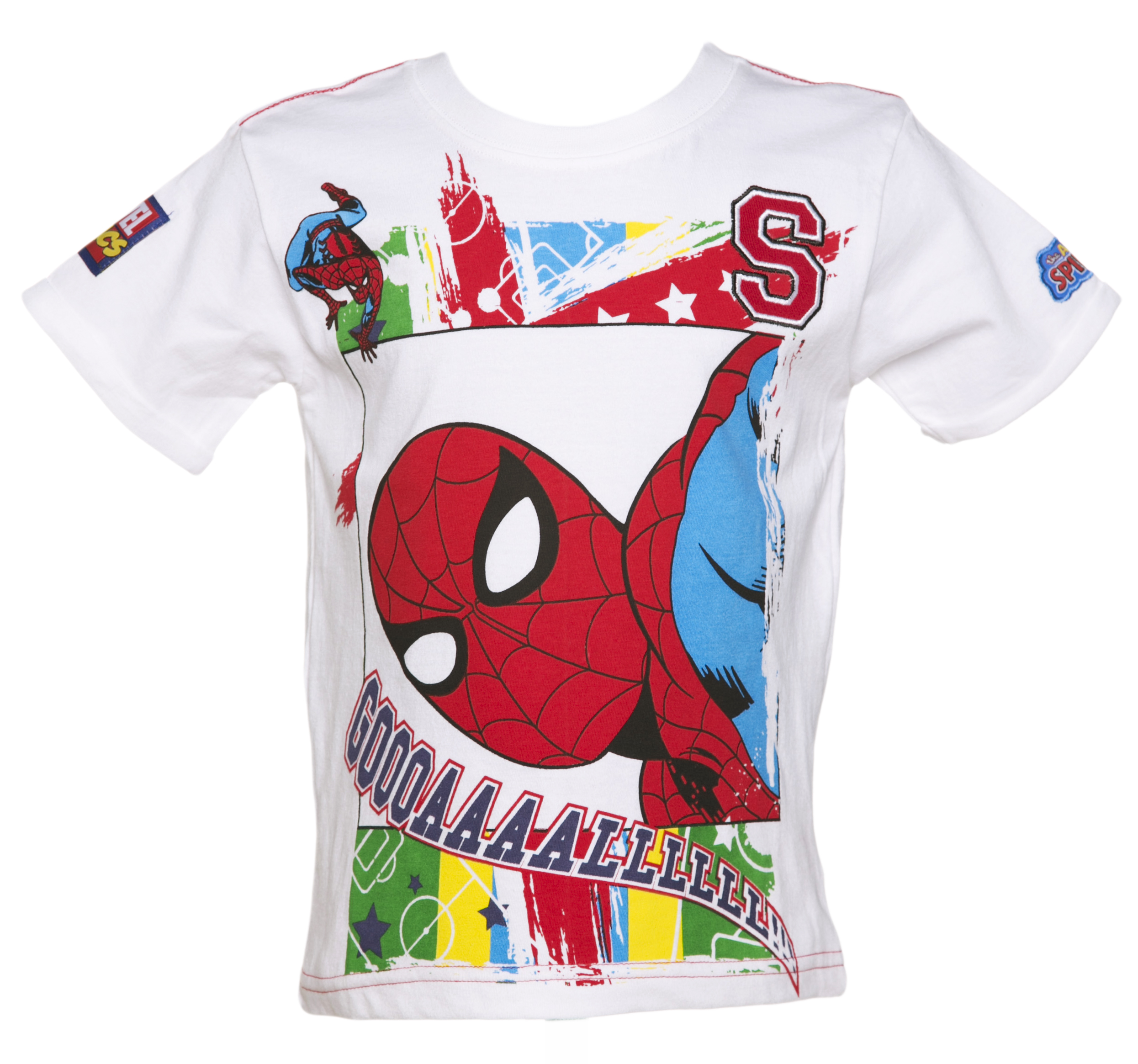 Spiderman Football T-Shirt