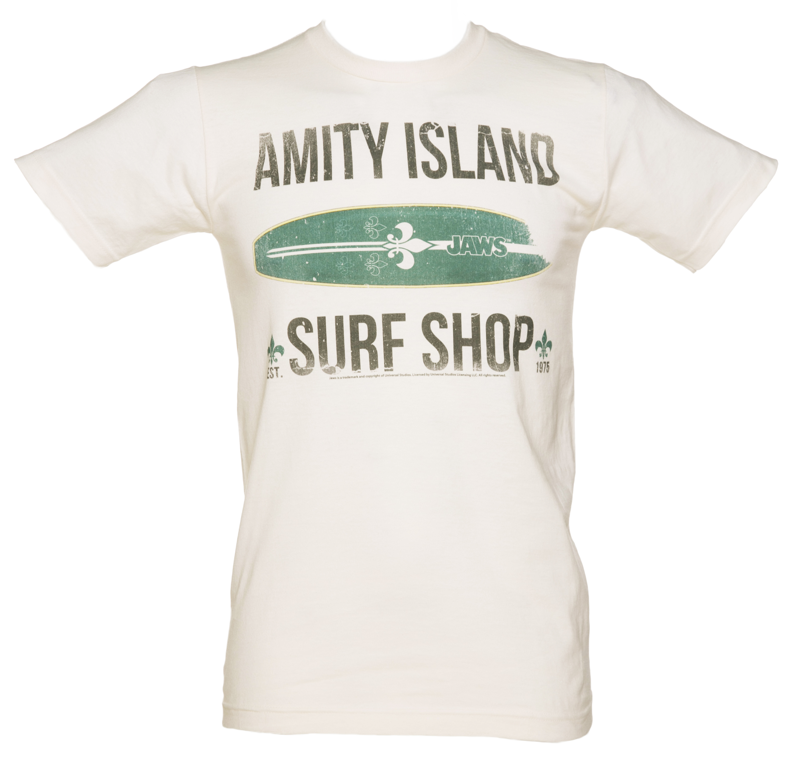 Awesome behind the scenes jaws piccys to sink your teeth for Surf shop tee shirts