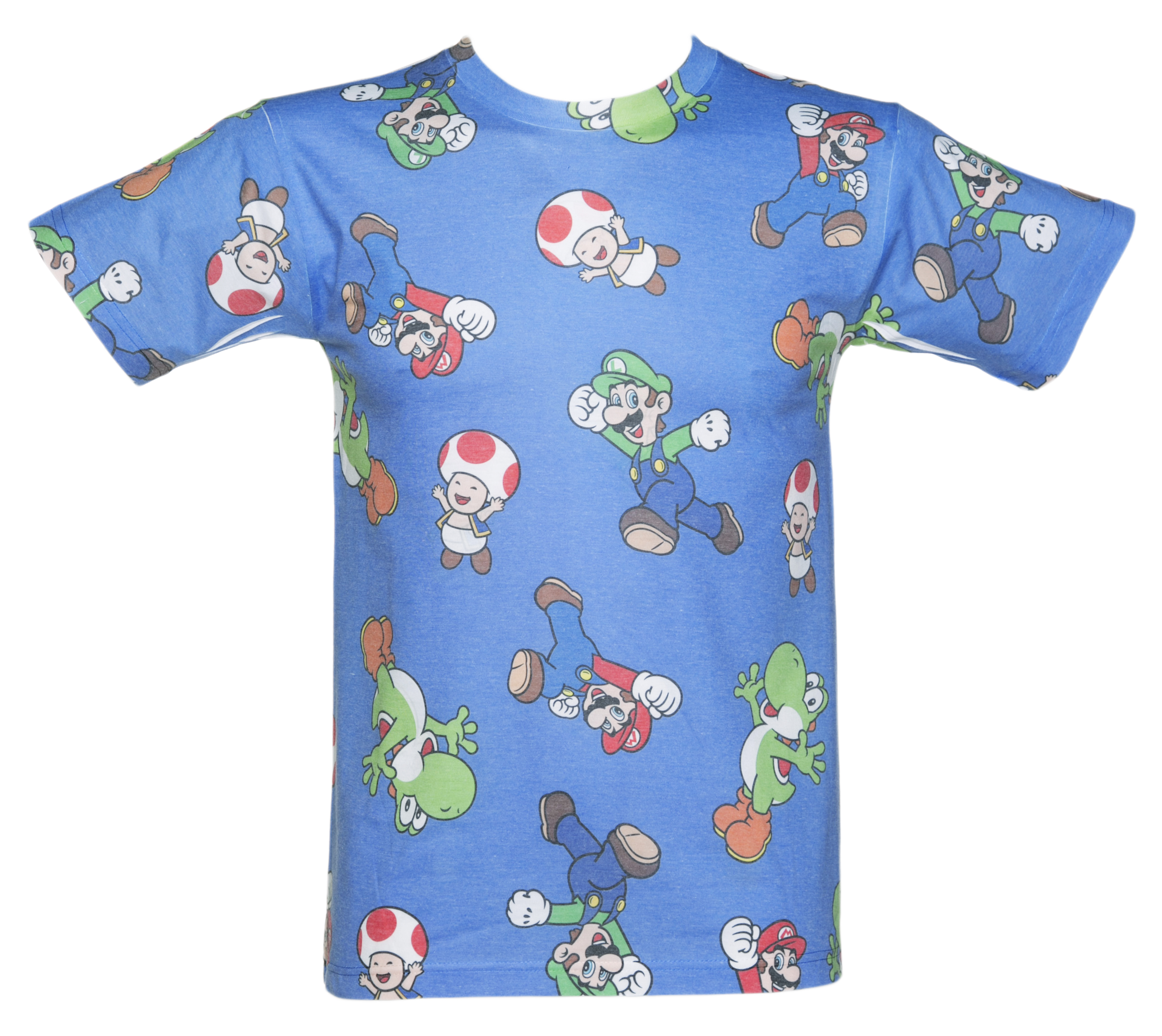Nintendo Super Mario Brothers Sublimation T-Shirt